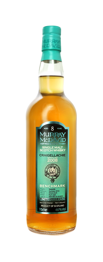 Murray McDavid Whisky Benchmark Craigellachie