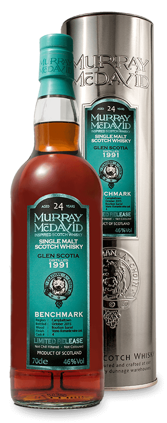 Murray McDavid Whisky Benchmark Glen Scotia 1991