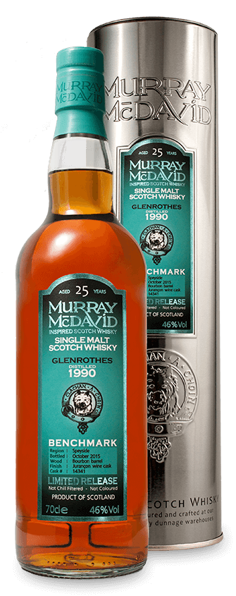 Murray McDavid Whisky Benchmark Glenrothes 1990