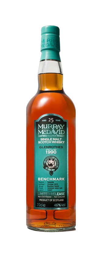 Murray McDavid Whisky Benchmark Glenrothes