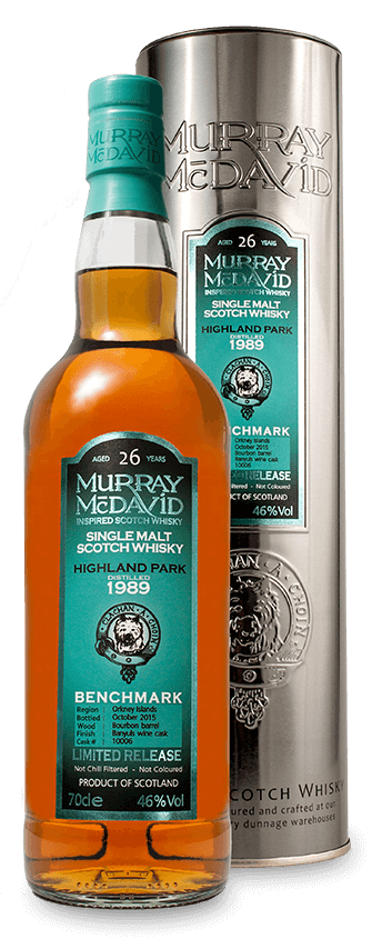 Murray McDavid Whisky Benchmark Highland Park 1989