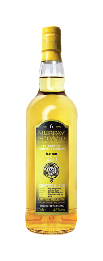 Murray McDavid Whisky Crafted Blend Ile Six