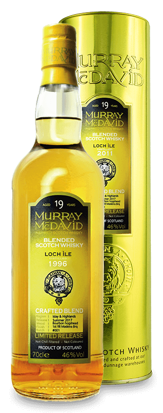 Murray McDavid Whisky Crafted Blend Loch Ile