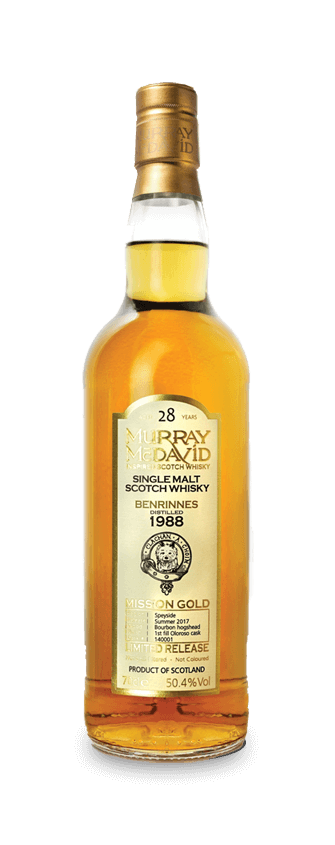 Murray McDavid Whisky Mission Gold Benrinnes