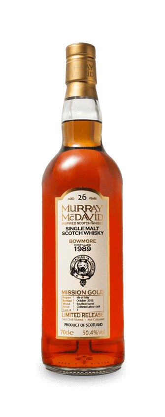 Murray McDavid Whisky Mission Gold Bowmore