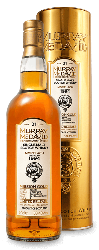 Murray McDavid Whisky Mission Gold Mortlach 1994