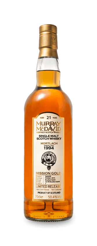Murray McDavid Whisky Mission Gold Mortlach