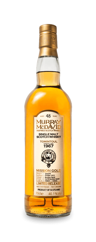 Murray McDavid Whisky Mission Gold Tomintoul