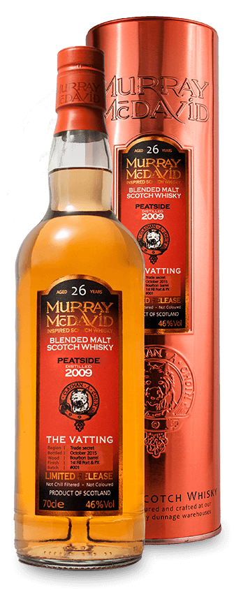 Murray McDavid Whisky The Vatting Peatside 2009