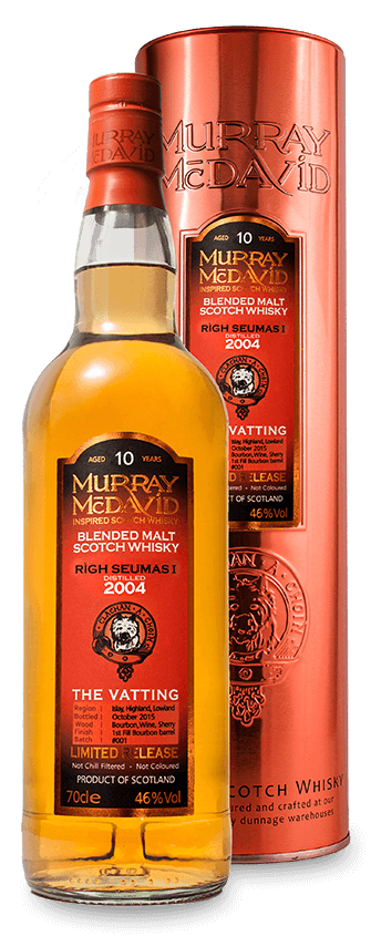 Murray McDavid Whisky The Vatting Righ Seumas I 2004