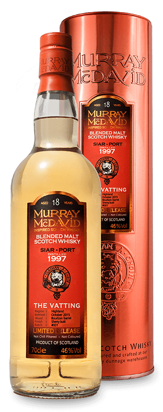 Murray McDavid Whisky The Vatting Siar Port 1997